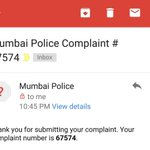Complaint against @tehseenp and @vishaldadlani filed with @MumbaiPolice Will lodge formal FIR soon https://t.co/8z9PkKzYSS