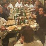 @Sadaqat_Ali having meal with @ImranKhanPTI. https://t.co/1DoTqnD7ik