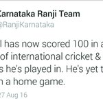 Well Played Rahul Anna 🙌👍👇👏 #IndvsWI https://t.co/IB1QNBfKpA