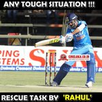 #ManForTheCrisis Then, It was #RahulDravid Now its #KLRahul Super Performance Again Today :) #IndvsWI @klrahul11 https://t.co/Bdod1TjzpR