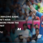 .@msdhoni was a proud captain after his India side nearly pulled off a record T20I chase in the 1st #WIvInd T20I https://t.co/r5FprpQsyN
