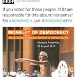 Pic 1 : AAPs pic when u r 20% of #भारतवर्ष population Pic 2 : AAP when u r 1% like Jains @Tan_Tripathi https://t.co/54YvLwWfOj