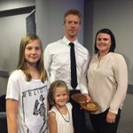 Look who we met today at the @htafcdotcom game! Thanks for he picture @Ed_Clancy & congrats on the #Rio2016 medal! https://t.co/UQXKfOMPzG