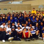 Rialto High AVID, football team, cheer squad, ASB, & NJROTC at the Relay for Life event 💜💜 #rialtopride #findacure https://t.co/69GxshagXA