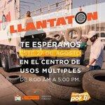 #TelemaxSonora #Hermosillo #Llantatón @HermosilloGob https://t.co/HaBjTZGLPb