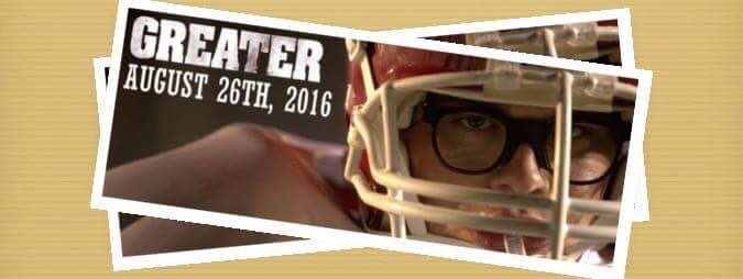 Premiering today a movie where football meets two friends: Hope and Faith! @greaterthemovie #GreaterTheMovie https://t.co/7xUX7HN7h2