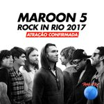 Confirmados em 2017: Sugar, Moves Like Jagger e Animals! \o/ @Maroon5 #Maroon5RockinRio2017 https://t.co/jRV1wacbUK
