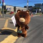 今日は応援だべや! #北海道マラソン https://t.co/qwNMRWvQ4l