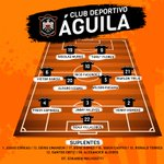 #LaPreviaAguilucha | Así nos enfrentamos esta noche al equipo de Sonsonate FC. #VamosÁguila https://t.co/CSuVXxTj7a