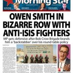 International YPG brigade in Syria call out @OwenSmith_MP want to talk to ISIS? Tell that to the martyrs of Manbij https://t.co/gLe6CpmNjT
