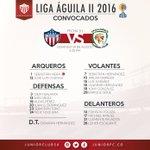 Los escogidos para el duelo de mañana frente a Jaguares. https://t.co/6s5hAXpFGc