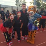Some of our rowdy stand leaders and Tootsie the Tiger cheering on our @KCTigerFootball team! https://t.co/kSIyo4eYQ0