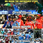 Dhoni babu. Best finisher stories.. Not a single t20 match won by India has DHONIs share..Such is his contribution https://t.co/4uHh9hsz1A