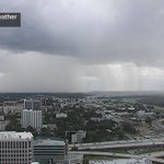 Can you see the rain? Its passing #HoldenHeights #OakRidgeFL just south of downtown #Orlando. #WFTV https://t.co/VF2Q3WeczJ