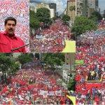 MIRA MUNDO LA VERDAD DE VENEZUELA. Esta es la Marcha por LA PAZ. Ellos son trabajadores #LasCallesSonDelChavismo https://t.co/R5BzXBTvbc