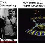 """Bekannte Symbole bei """"unpolitischer"""" IFC-Veranstaltung   #le2708 #Connewitz #noifc  https://t.co/25GYKhaQKt https://t.co/GkQrVLUWc9"""