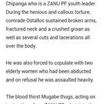 @P_VanDamme_EU @AmnestyOnline @usembassyharare @UKinZimbabwe @UKenyatta https://t.co/kj3mxdUqDj