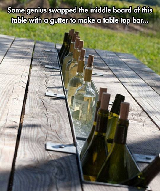 test Twitter Media - #Wine bar picnic table? Wow... great minds can think of anything! What do you think #winelovers? #wineoclock https://t.co/be7itDobHN