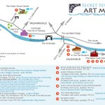 Heres a map of the Secret Severn Art Trail. Another reason to spend some time in the #Ironbridge Gorge #Telford https://t.co/bOoteKvzVf
