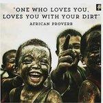 من يحبك يحبك حتى وإن كنت ملطخاً بالوحل   . مثل افريقي https://t.co/ilnadzj6uG
