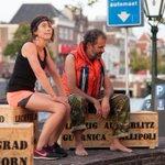 Mooie avond gisteren op de Oude Vest #odysseus #preview #midnightwalk #leiden #aldentespeelt https://t.co/zXrSW1YdCl