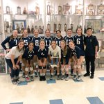 Hawks go 3-1 in the Early Bird Tournament taking home the 2nd place trophy  🏐 https://t.co/pQ44Y3Ttso