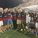 The @Chas_Battery honoring their 1996 championship team tonight https://t.co/fK6N2dC5An