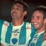 O @Paysandu lançou um manto em homenagem à Copa dos Campeões de 2002, assinado pela sua marca #LOBO. Curtiu? https://t.co/W0fLxsqa5x