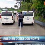 Sujetos que se hicieron pasar por pasajeros roban en bus pirata en el Corredor Norte. Usuarios piden más seguridad https://t.co/AwjWJNNuAm