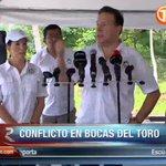 Presidente @JC_Varela reaccionó al conflicto en Bocas del Toro e indica que están dispuestos al diálogo https://t.co/MDsuVZpXvx