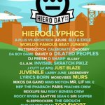 Next thing Im excited about 😍 @HieroDay 9.5.16! Such a dope lineup this year #Oakland https://t.co/W9MsNl668u