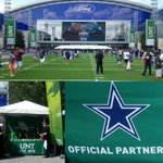 Celebrating with our official partners, the @DallasCowboys! #UNT had a strong presence at the grand opening! https://t.co/mcWQF1Lnvk