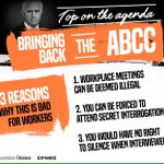 When Turnbull says: restoring the rule of law - he means law of the jungle where workers have no rights #insiders https://t.co/7csr8OJGfd