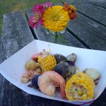 Lowcountry Boil with Combahee clams, Carolina shrimp, and blue crab @MiddletonPlace #GoodCatch Dinner! #sustainable https://t.co/kRhaxlLSVx