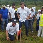 2do día de reforestación en Alto de Piedra de Santafe de Veraguas con la participación del presidente Juan C Varela https://t.co/LxGqM9ggwY