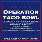 #OperationTacoBowl LIVE STREAM tomorrow at 2:00 PM PT on RSBN LIVE LINK: https://t.co/xbfmdal4xQ   #MAGA https://t.co/h5e8LPd5U1
