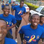 Rotaract Club of Mulago @TheEmpiso representing at #RotaryCR16 @RotaryCancerRun @TheEmpiso @rotaract @Rotary https://t.co/2c64iI0DjR