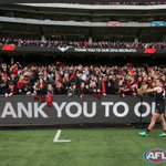 The Essendon army had plenty to cheer about yesterday! https://t.co/NkzyGvVZoT