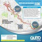 En minutos inicia carrera #RutadeLasIglesias. Conozca el recorrido, cierres y desvíos Foto: Ecu911 https://t.co/XqPNa8u1uz