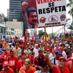 #Venezuela | Clase obrera marcha para reafirmar compromiso con la Revolución Bolivariana https://t.co/unCzP19rxp https://t.co/Y7J6t3a91i
