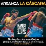 Todos apoyar a #HandsOfStone , película de Roberto Manos de Piedra Durán . @la_cascara https://t.co/Prb70MWnsu