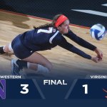 RECAP: #UVAVB falls to Northwestern 3-1 in Cavalier Classic finale. https://t.co/CbHRWb85cu https://t.co/c6ibLpL7Jn