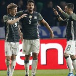 (@WahyudinOzil) Özil nyekor (Arsenal menang), Khedira nyekor (Juve menang) & Kroos nyekor (Madrid menang). Trio 👏👏👏 https://t.co/7wlqRnYi5h
