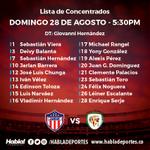 Estos son los convocados por Hernández para el juego del Junior contra Jaguares este 28 de agosto. ¿Qué opinas? https://t.co/FA7tYzRaGb