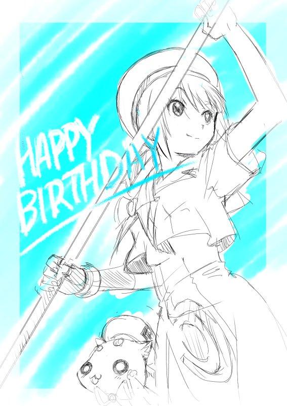 【ARIA】本日は8/28 アイちゃん&水橋かおりさんお誕生日おめでとうございます〜♪  #ARIAカンパニー