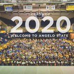 Welcome to @AngeloState Class of 2020! Photo courtesy Brandon Whitford of Communications & Marketing. #RamFam20 https://t.co/AcFrGgL0SH