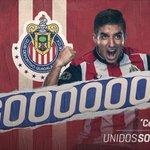 31 ¡GOOOOLAZO de @brizuela27_cone a pase de @AZaldivar_! América 0-2 Chivas. #UnidosSomosCA3RONES https://t.co/h8rQO4f6LP