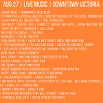 Lots of live music to choose from in #Victoria tonight! @DVBA #ExploreVictoria https://t.co/g35noiFl5R