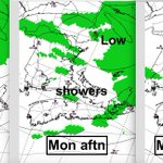 Very nice today: low-mid 20s. Passing showers Mon wont help with rain deficit in parts of NS. #h https://t.co/6YMCk9uJ26