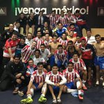 Hoy ganó México, hoy ganamos porque #UnidosSomosCa3rones. Gracias por tanto #CapitalRojiblanca 🇫🇷🐐❤️💙💪🏽 https://t.co/n130bey4Qo